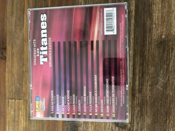 CD , Los Titanes , Greatest Hits , Grande Exitos