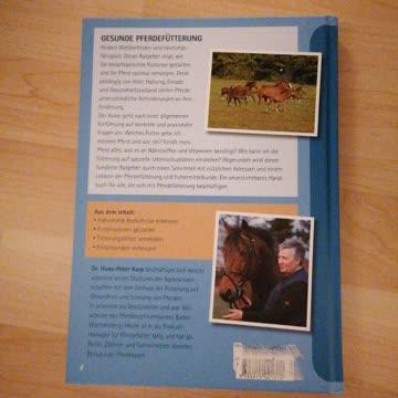 Gesunde Pferdefütterung