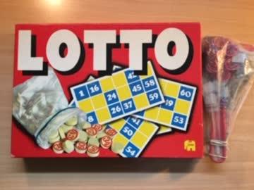 Älteres Lottospiel