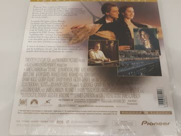 Titanic Widescreen Edition LASERDISC