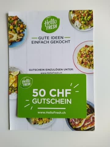 Hello Fresh Gutschein CHF 50.–