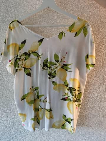 Sommerliche Bluse in Gr. S