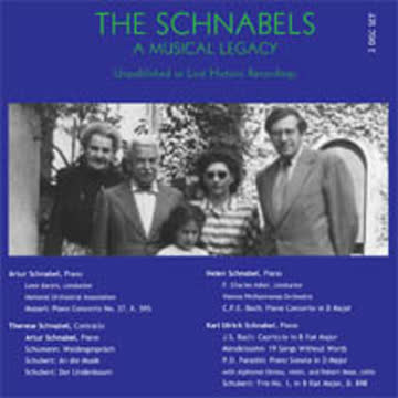 Karl Ulrich Schnabel - The Schnabels - A Musical Legacy