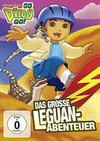 GO Diego GO das Grosse Leguan-Abenteuer