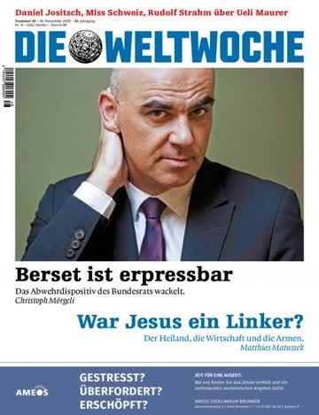 Weltwoche Nr. 48 / 2020