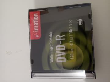 DVD -Rohlinge 5 Stk.
