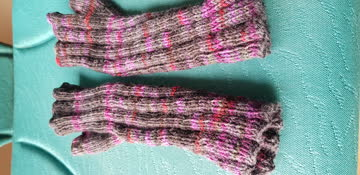 Halbe Handschuhe