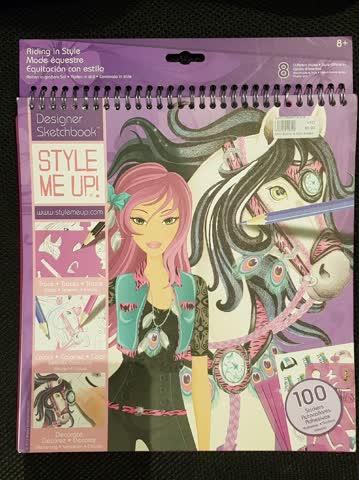 Style me up Sketchbook