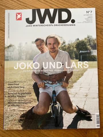 Zeitschrift JWD Joko Winterscheidt Nr. 7