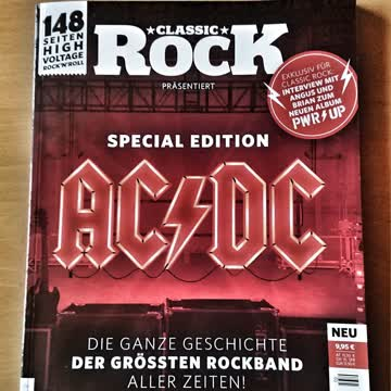 Classic Rock - AC/DC special edition