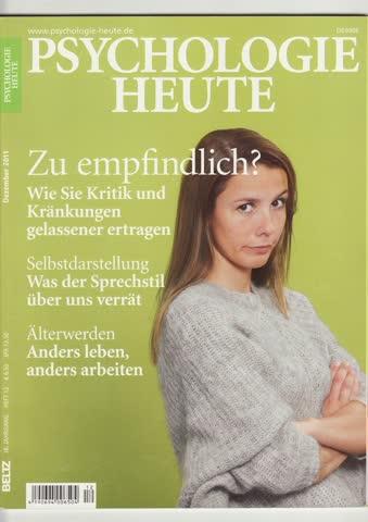Psychologie Heute Dezember 2011