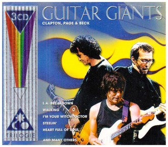 Page & Beck Clapton - Guitar Giants [UK-Import]