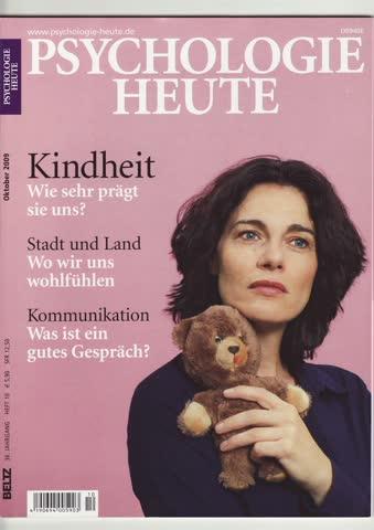 Psychologie Heute Oktober 2009