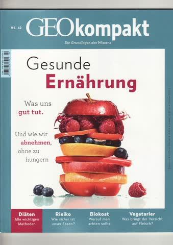 GEO kompakt - Gesunde Ernährung Nr. 42