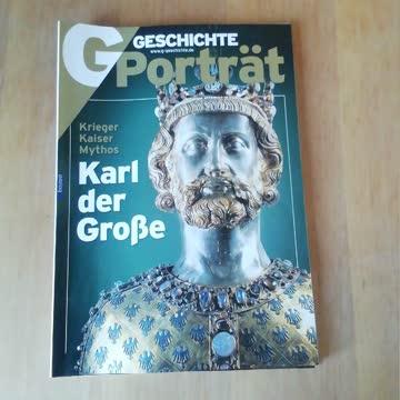 Geschichte Porträt / Karl der Grosse, Krieger, Kaiser, Myth
