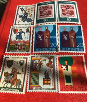 Lichtenstein Briefmarken