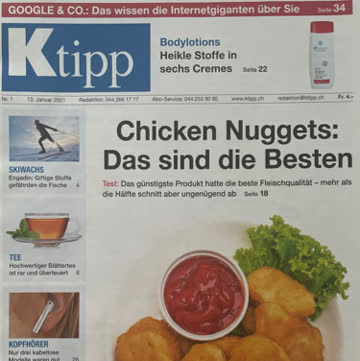 K-Tipp Magazin