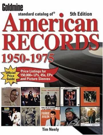 Goldmine Standard Catalog of American Records 1950-1975