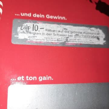 10.- Fr Gutschein