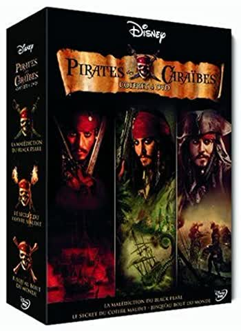 Pirates des Caraïbes - La trilogie (coffret collector 4 DVD)
