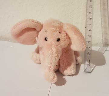 Plüsch rosa Elefant 9cm
