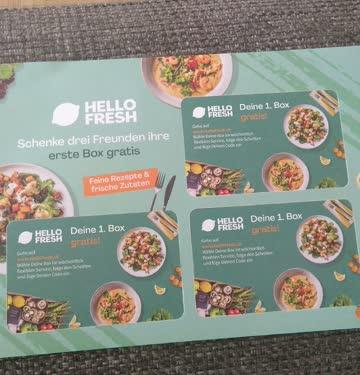 Hello Fresh 1. Lieferung gratis
