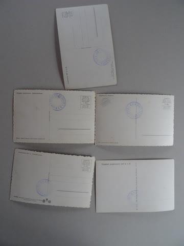 Postkarten 5 Stück, Eispalast Jungfraujoch