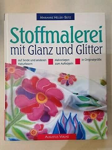 Stoffmalerei mt Glanz und Glitter