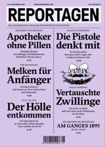 REPORTAGEN Ausgabe 25 und 43