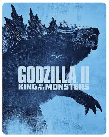 Godzilla II: King of the Monsters 3D + 2D Steelbook