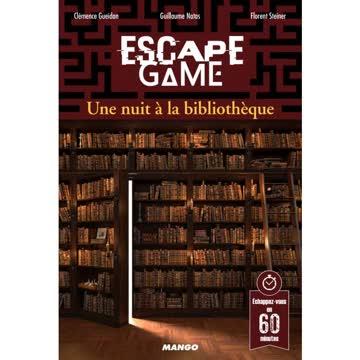 Escape Game. Une nuit à la bibliothèque