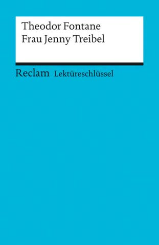Lektüreschlüssel Frau Jenny Treibel