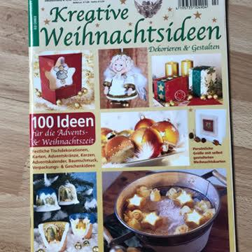 Zeitschrift kreative Weihnachtsideen