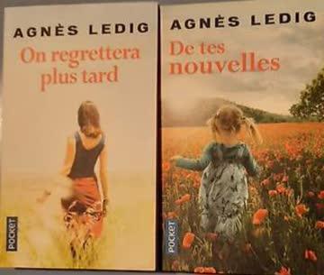 Agnès Ledig 2x Taschenbücher