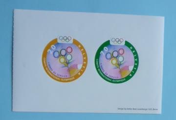 "14 Stück ""Halbes Markenheft Olympiade 2000"""