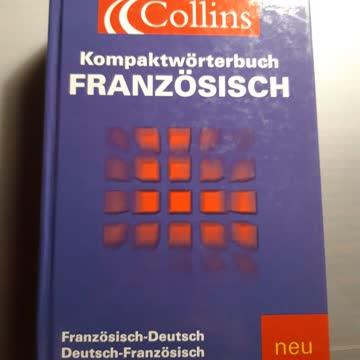 Kompaktwörterbuch Französisch- Deutsch