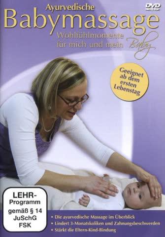 Ayurvedische Babymassage