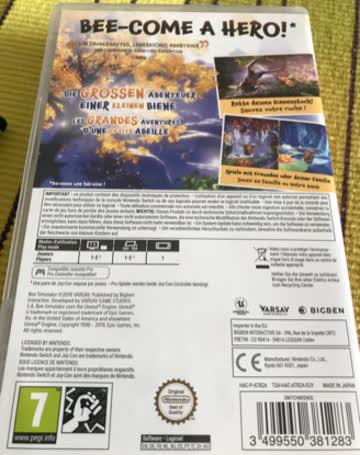 Nintendo Bee Simulator