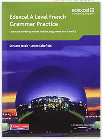 Edexcel A Level French Grammar Practice Book: for AS and A2