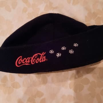 Coca cola mütze
