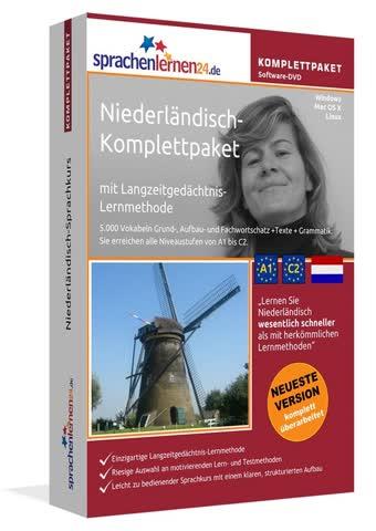 Niederländisch- Komplettpaket Software DVD