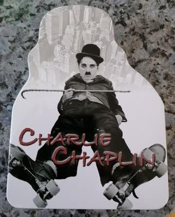 Charlie Chaplin 4 DVD box