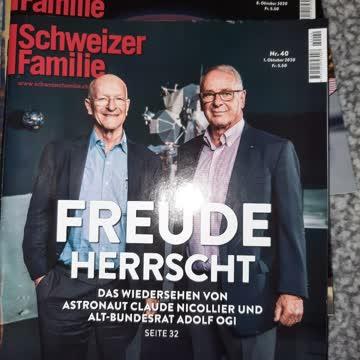 5 Stk Schweizer illustrierte