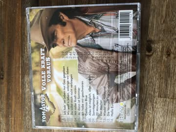 CD , Tom Astor , Volle Kraft voraus