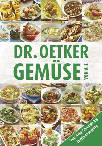 Dr. Oetker Gemüse von A-Z