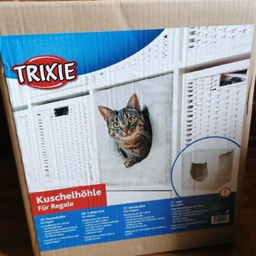 Trixie Katzen Kuschelhöhle für Regal