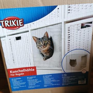Trixie Katzen Kuschelhöhle für Regal - NEUWERTIG