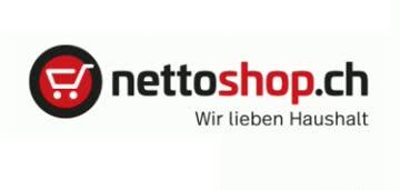 Nettoshop Gutschein CHF10.00 Rabatt gültig bis 31.05.2021