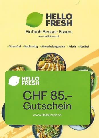 Hello Fresh Fr. 85.--