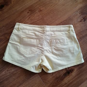 Shorts, gelb, Yes or No (M)